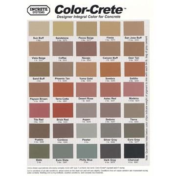 Color-Crete