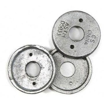 Shear Plate Malleable Washer Plain 13/16ID X 2 5/8OD