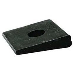 Square Bevel Malleable Washer Plain 3/8
