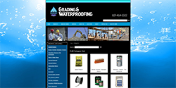 Grading and Waterproofing
