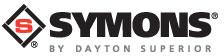 Symons by Dayton Superior