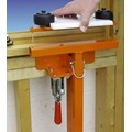 ADJUSTABLE WINDOW CLAMP  WITH GLIDE