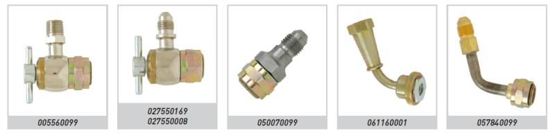 High pressure inflating connectors ws