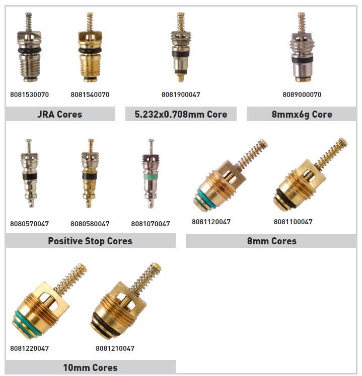Air conditioning schrader valves ws