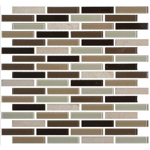 Mosaic Traditions Zen Escape 5 8 X 3 Brick Joint Mosaic