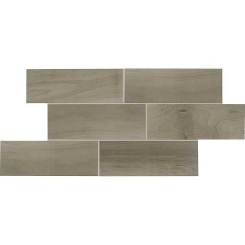 Emblem Ceramic Floor Wall Gray Field Tile 48WS