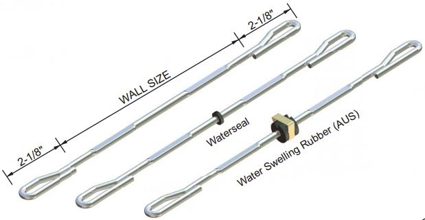 Steel Ply Heavy Duty Loop Tie